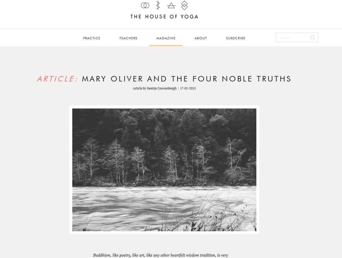 The four noble truths essay